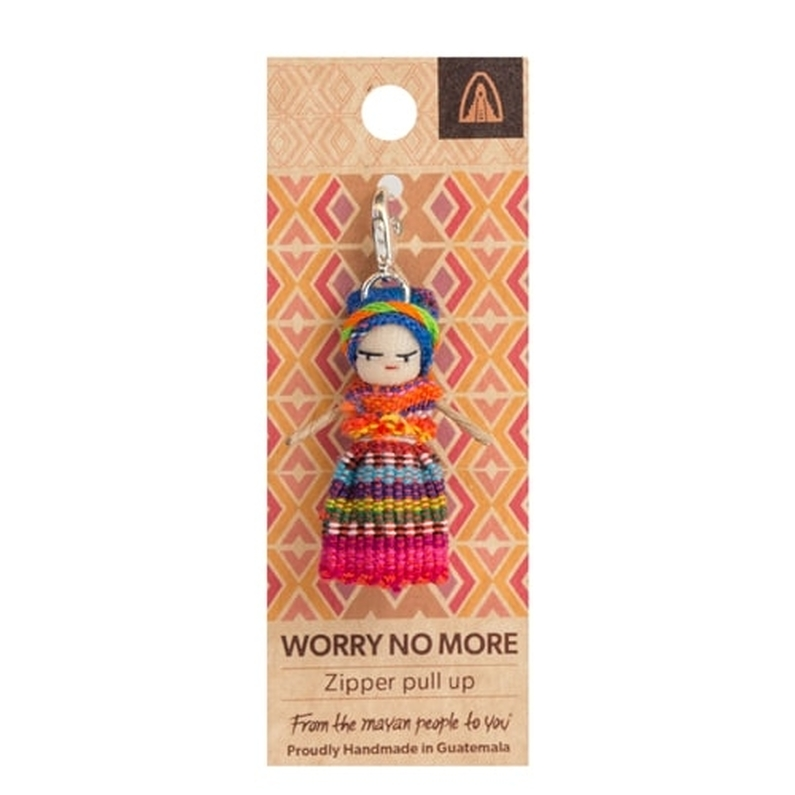 Worry No More Zipper Pull Up Doll