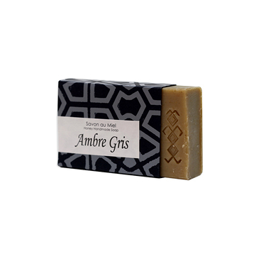 """Ambre Gris"" soap with honey"