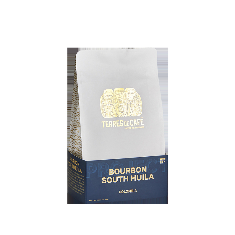 Café Colombie Bourbon Project South Huila 250G