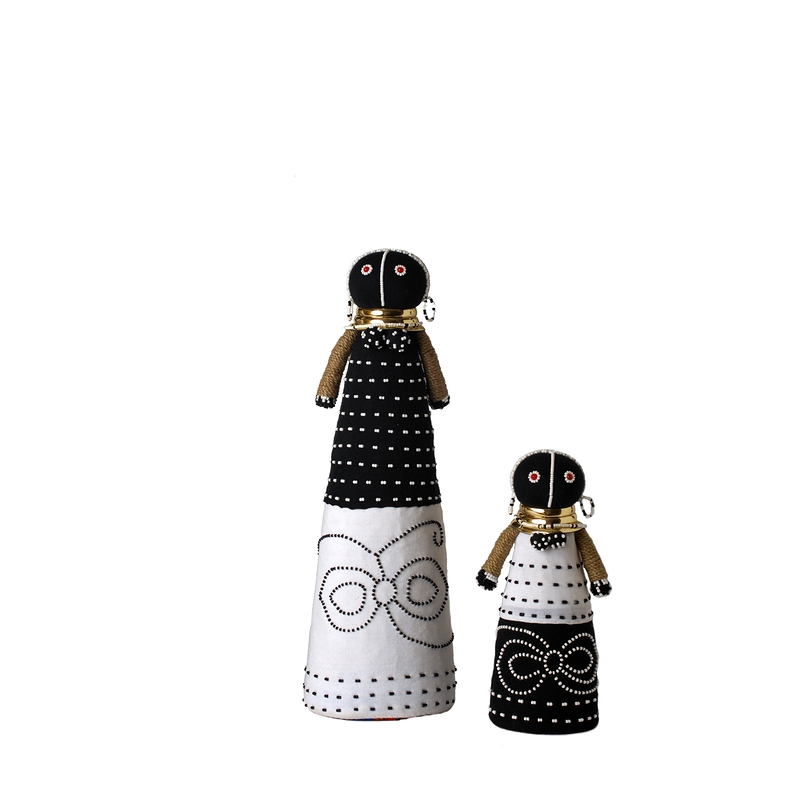 Ndebele engagement dolls