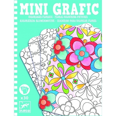 Mini Grafic - Coloriages floraux