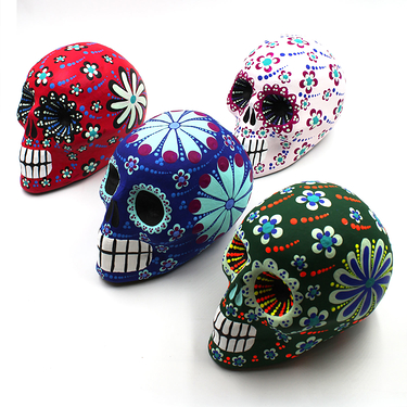 Colored Calavera - Large model