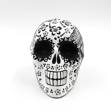 White Calavera - Large model