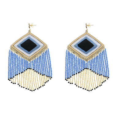 Kuna Embera earrings