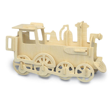 Jeu de construction en bois Locomotive